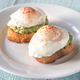 Sandwiches with guacamole and poached eggs - PhotoDune Item for Sale