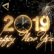Glamorous New Year Countdown Clock 2019 - VideoHive Item for Sale