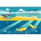 Free Download Summer Travel Horizontal Banners, Beach, Scuba Nulled