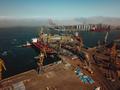 Sea port from a bird's-eye view. Odessa, Ukraine - PhotoDune Item for Sale