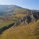 Aerial view of the medieval fortress of Coltesti from a drone, Romania - PhotoDune Item for Sale
