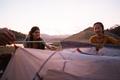 portrait group hiker prepare make a tent - PhotoDune Item for Sale