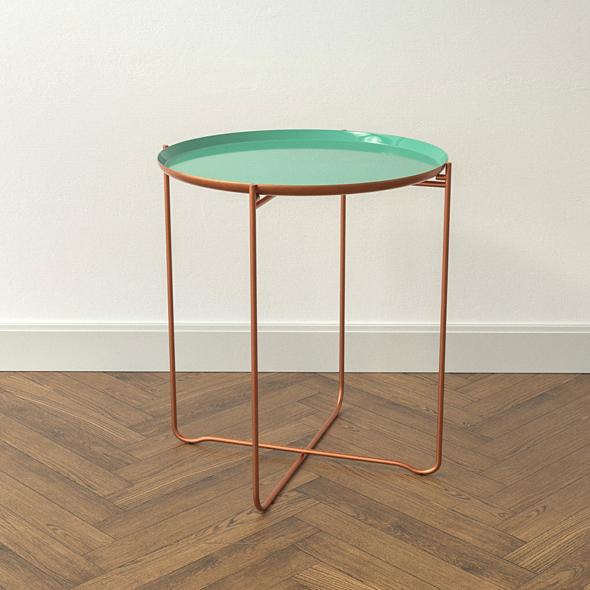 Design Side Table Khloe - 3DOcean Item for Sale