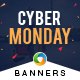 Cyber Monday HTML5 Banners - 7 Sizes - CodeCanyon Item for Sale