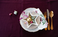Festive table setting for the holidays - PhotoDune Item for Sale