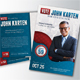 Political Election Mailer Postcard v2 - GraphicRiver Item for Sale