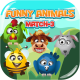 Funny Animals Match-3 - HTML5 Game + Mobile Version! (Construct 3 | Construct 2 | Capx) - CodeCanyon Item for Sale