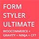 Free Download Form Styler Ultimate | Compatible with WooCommerce, Gravity Forms, Ninja Forms & CF7(Contact Form 7) Nulled
