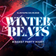 Winter Beats Party Flyer - GraphicRiver Item for Sale
