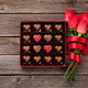 Free Download Red roses and chocolate box Nulled