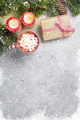 Christmas gift, marshmallow and xmas fir tree - PhotoDune Item for Sale