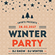 Free Download Winter Party Flyer Nulled