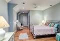 Tasteful attic bedroom with hard wood floors - PhotoDune Item for Sale