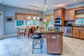 Open concept kitchen and dining room apartment - PhotoDune Item for Sale