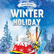 Free Download Winter Holiday Flyer Nulled