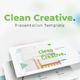 Clean Creative Google Slides - GraphicRiver Item for Sale