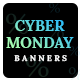 CyberMonday Sale Banner Set - GraphicRiver Item for Sale