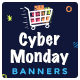 Cyber Monday Sale Banner Set - GraphicRiver Item for Sale