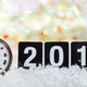 Free Download 2019 New Years eve celebration. Minutes to midnight on an old watch, bokeh festive background Nulled