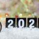 Free Download 2020 New Years eve celebration. Minutes to midnight on an old watch, bokeh festive background Nulled