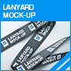 Lanyard Mock-up - GraphicRiver Item for Sale
