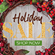 Christmas Holiday Social Media Pack - GraphicRiver Item for Sale