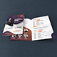 Conference Bifold Brochure Template - GraphicRiver Item for Sale
