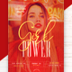 Free Download Girl Power Flyer Template Nulled