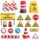 Road Barrier Vector Street Traffic-barrier Under - GraphicRiver Item for Sale