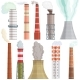 Industry Factory Vector Industrial Chimney - GraphicRiver Item for Sale