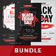 Black Friday Flyer - Bundle - GraphicRiver Item for Sale