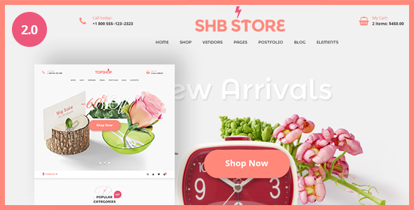 SHB ( Spa, Health & Beauty) - RTL Responsive WooCommerce WordPress Theme - WooCommerce eCommerce