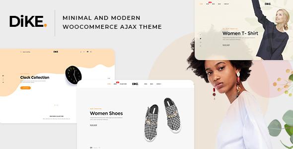 Dike - Minimal and Modern WooCommerce AJAX Theme - WooCommerce eCommerce