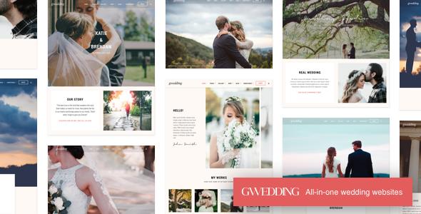 Grand Wedding   Wedding WordPress for Wedding - Wedding WordPress