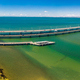 Aerial view of Houghton Bridges, connecting the Redcliffe Penins - PhotoDune Item for Sale