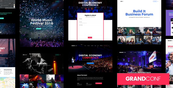 Grand Conference | Event Conference WordPress for Event and Conference - Events Entertainment