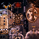 Steampunk Video Mapping Video Wall - VideoHive Item for Sale