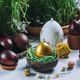 Easter Eggs On Table - PhotoDune Item for Sale