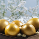 Golden Easter Eggs On Table - PhotoDune Item for Sale