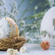 Decoupage Easter Egg In Nest - PhotoDune Item for Sale