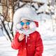 Portrait of cute little girl in winter - PhotoDune Item for Sale