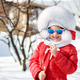 Cute little girl in winter - PhotoDune Item for Sale