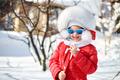 Cute little girl in winter - PhotoDune Item for Sale