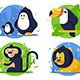 Animals Icons - GraphicRiver Item for Sale