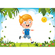 Free Download Vector Illustration Of Kid Running Nulled