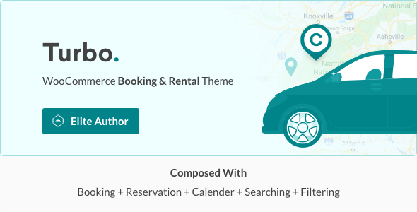 Turbo - WooCommerce Rental & Booking Theme - WooCommerce eCommerce