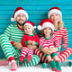 Happy family having fun at Christmas time - PhotoDune Item for Sale