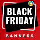 Black Friday HTML5 Banners - 7 Sizes - CodeCanyon Item for Sale