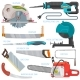 Saw Vector Sawing Equipment - GraphicRiver Item for Sale