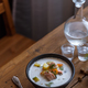 Traditional Finnish Salmon and cream soup - lohikeitto, selective focus - PhotoDune Item for Sale